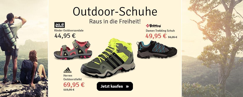 Sport: Outdoor-Schuhe