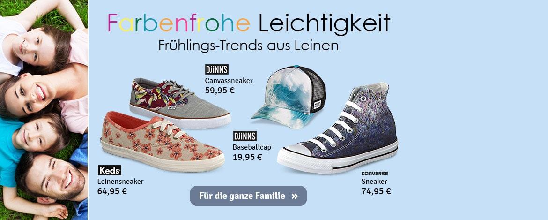 Farbenfrohe Leinen Schuhe