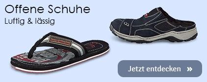 Herren Offene Schuhe