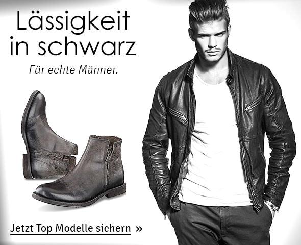 Trendfarbe Schwarz