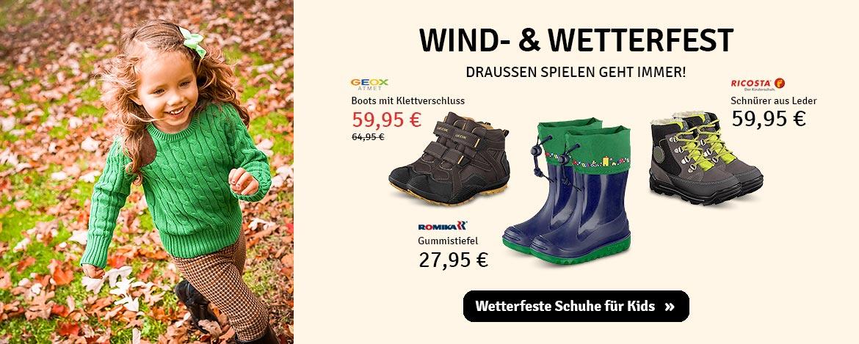 Kinder: Wind- &Wetterfest