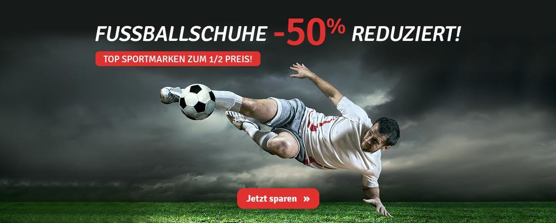 Sport: Fußballschuhe -50%