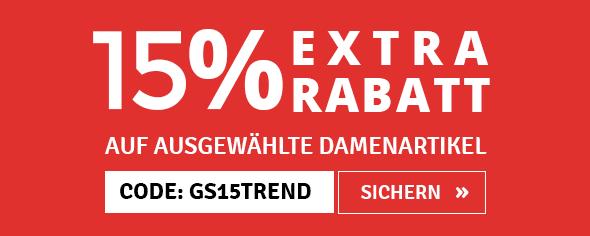 15% EXTRA RABATT