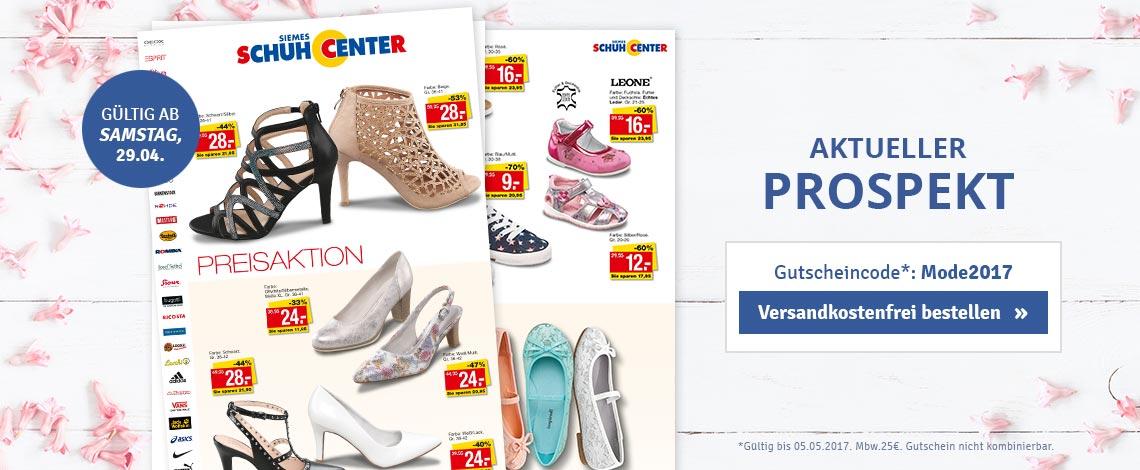 Schuhcenter Prospekt