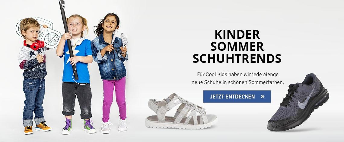 Kinder Schuhtrends