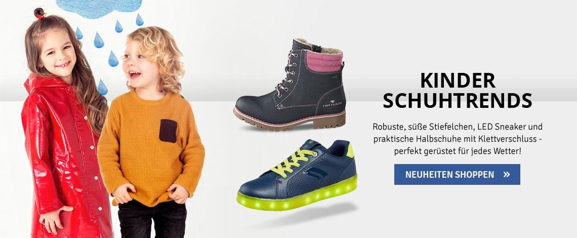 Kinder Schuhtrends Herbst