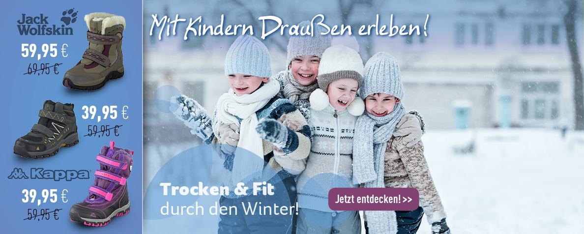 Winterschuhe für Kids