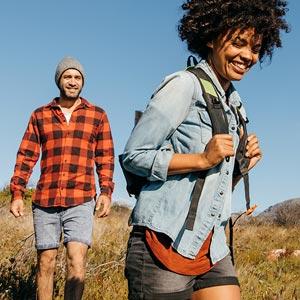 Walking Trail, Wandern und Spazieren gehen mit Outdoorschuhen von Jack Wolfskin, Brütting, adidas uvm.