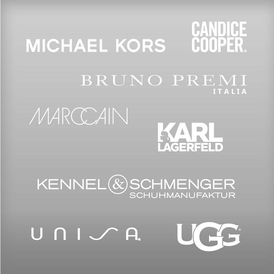 Hochwertige Markenschuhe von Michael Kors, Bruno Premi, Karl Lagerfeld, Bugatti, Kennel und Schmenger uvm.