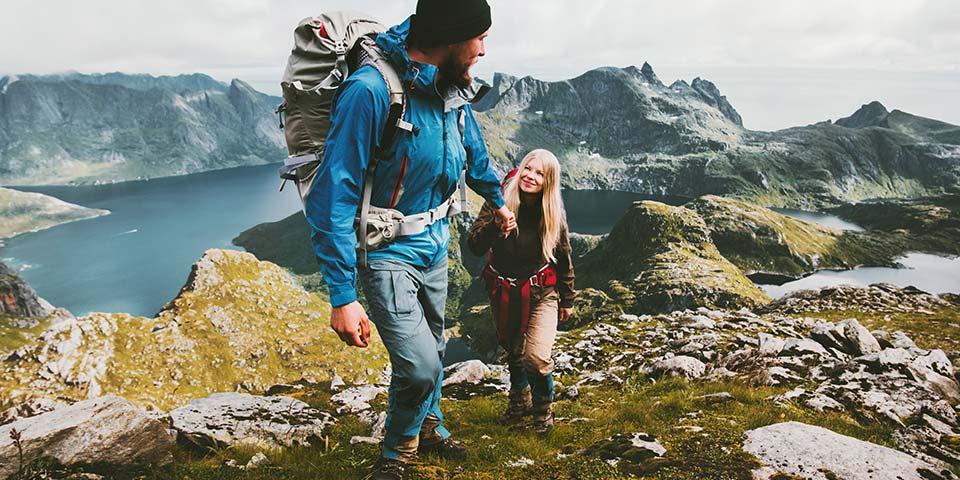 Outdoorschuhe, Wanderschuhe, Trekkingschuhe für Damen, Herren und Kinder