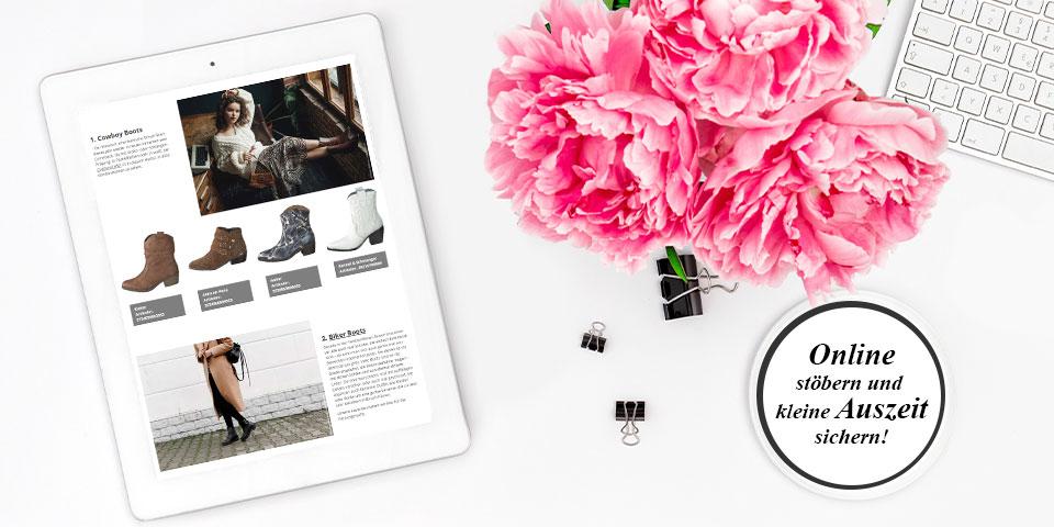 Siemes Schuhcenter Online Magazin