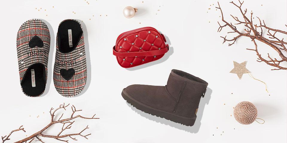 Schöne Geschenkideen für Weihnachten - Moderne Schuhe und Taschen im Siemes Schuhcenter Onlineshop