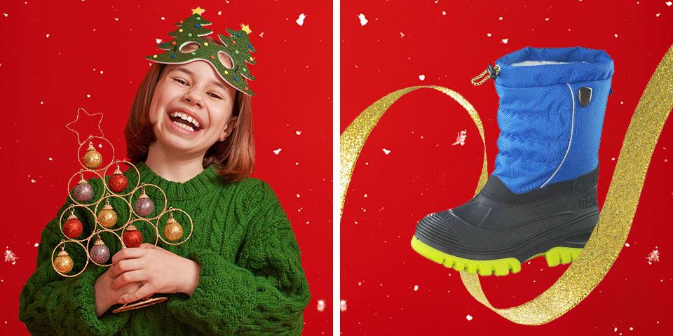 Günstige Kinder Stiefel und Boots für den Winter