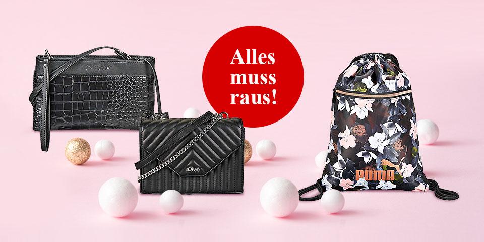 -20% Extra auf alle Taschen, Rucksäcke und Sporttaschen
