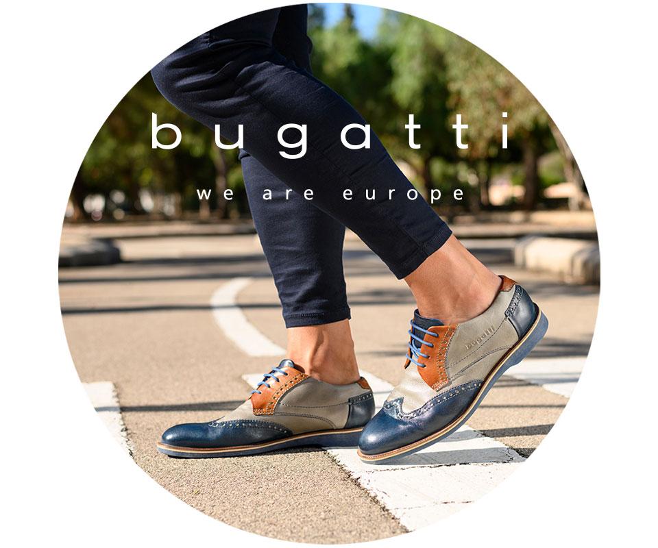 Bugatti Herrenschuhe - Halbschuhe, Schnürschuhe und Sneaker in Top Qualität