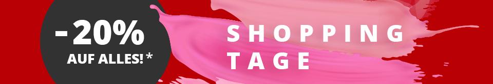 Shopping Tage auf schuhcenter.de: -20% auf alles im Siemes Schuhcenter Onlineshop