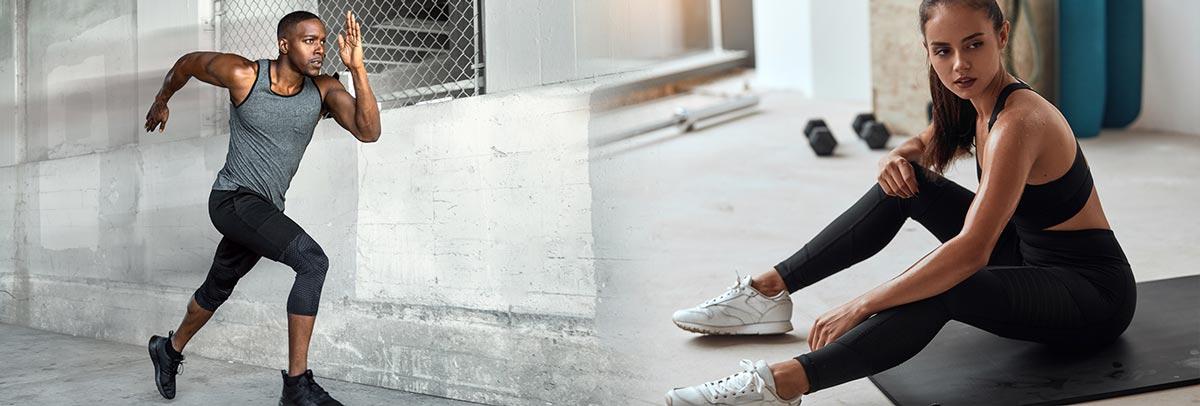 Starte jetzt das Training und bleib gesund! Laufschuhe, Fitnessschuhe und Hallenschuhe von adidas, Nike uvm. im Siemes Schuhcenter Onlineshop