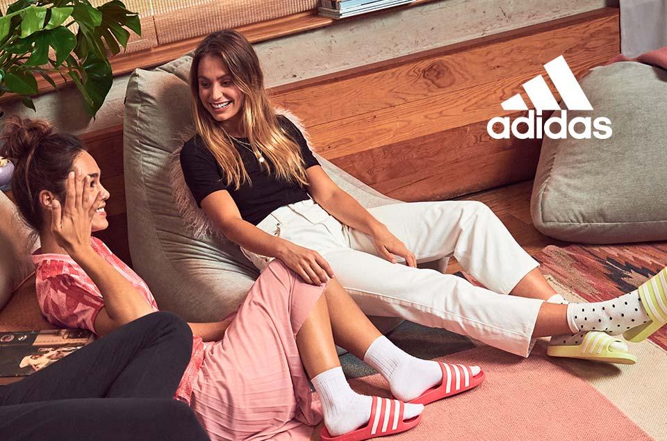 adidas Adiletten und Sneaker für Damen