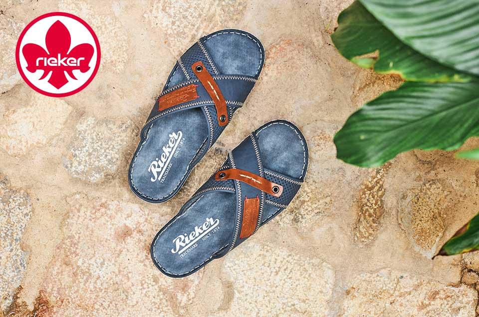 Herren Rieker Sandalen, Sneakers, Halbschuhen, Slippers uvm. jetzt günstig online bei Siemes Schuhcenter kaufen