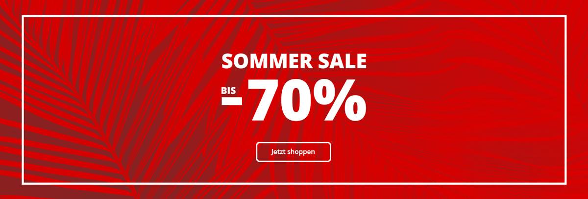 Sommer SALE bei Siemes Schuhcenter: Bis zu -70% Rabatt auf Damenschuhe, Kinderschuhe und Herrenschuhe