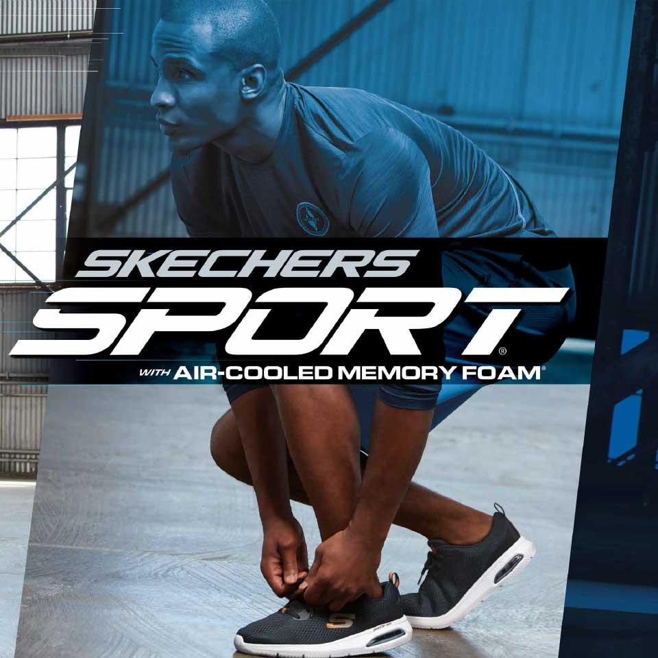 Komfortable Skechers Sneaker für Herren HW2020