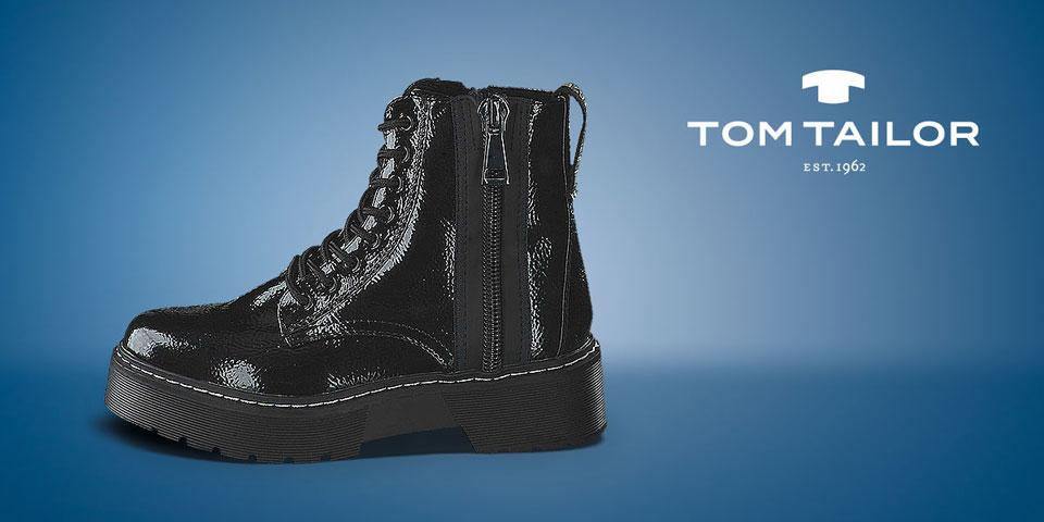 Entdecken Sie die neue Tom Tailor Kollektion Herbst/Winter 2020: Boots, Stiefeletten und Sneaker für Damen
