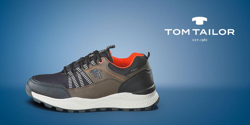 Entdecken Sie die neue Tom Tailor Kollektion Herbst/Winter 2020: Boots, Stiefeletten und Sneaker für Herren