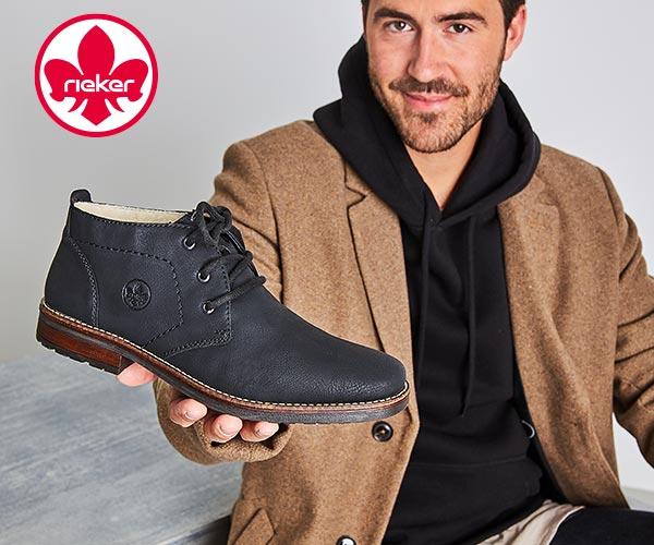 Rieker Herrenschuhe - Boots, Stiefel, Halbschuhe uvm. günstig online kaufen