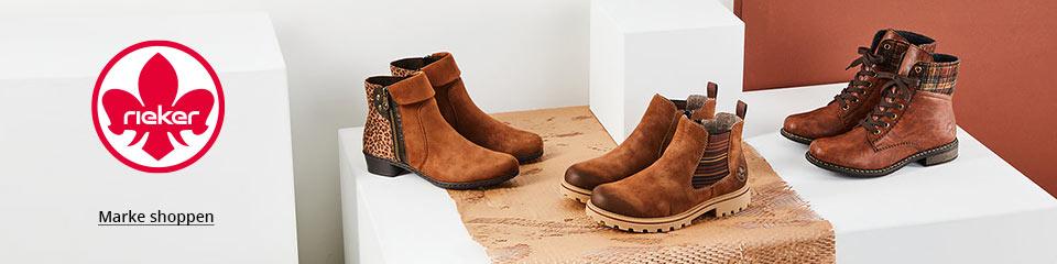 Rieker Damenschuhe: Stiefeletten und mehr aus der Kollektion Herbst/Winter 2020 jetzt zu attraktiven Preisen online shoppen bei Siemes Schuhcenter
