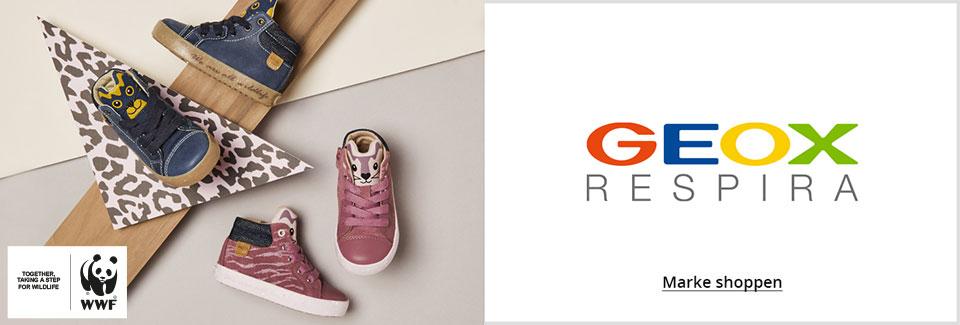 Geox und WWF Kinderschuhe: Nachhaltige und umweltfreundliche Sneaker und Lauflernschuhe für Mädchen und Jungen jetzt online shoppen bei Siemes Schuhcenter