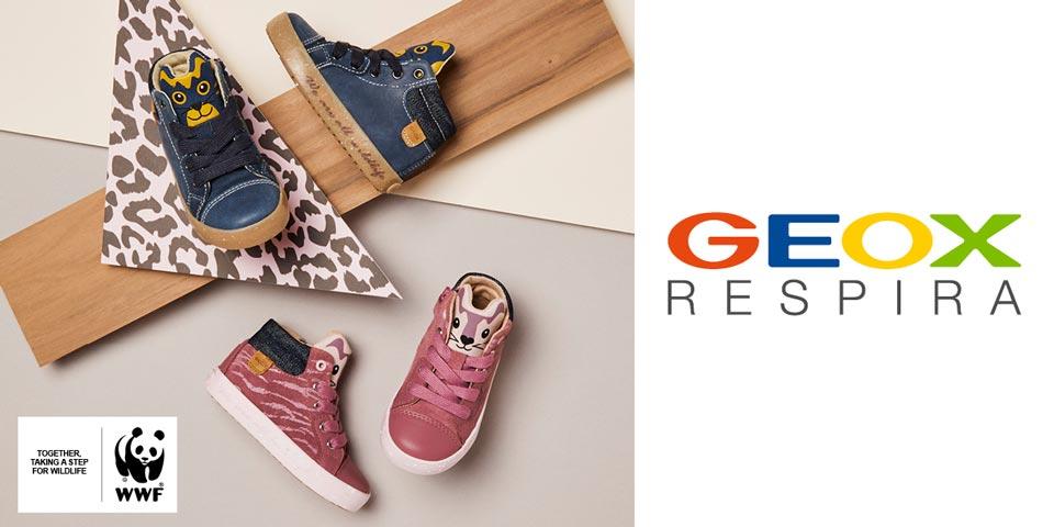 Geox und WWF: Nachhaltige Kinderschuhe für Mädchen und Jungen