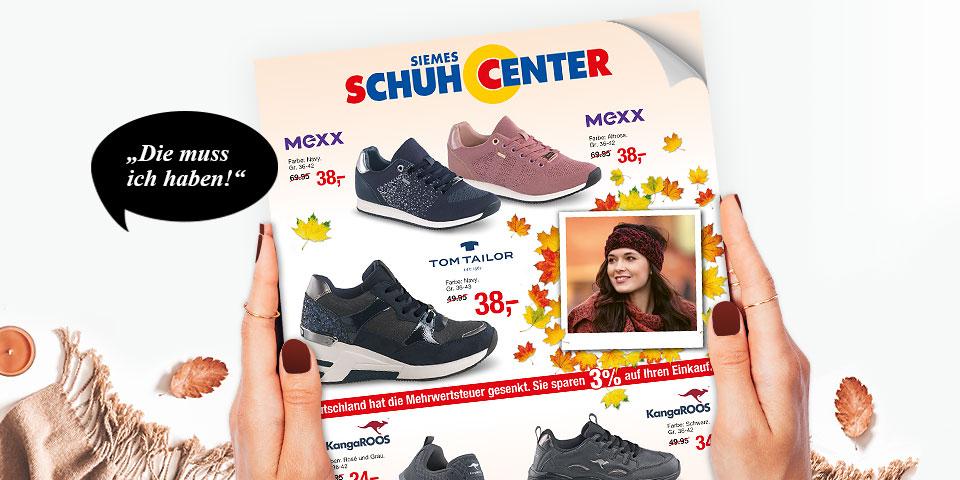 Siemes Schuhcenter Prospekt Herbst 2020: Jetzt exklusive Online-Angebote auf schuhcenter.de für den Start in den Herbst sichern
