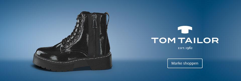 Tom Tailor Damenschuhe: Stiefeletten, Boots und mehr aus der Kollektion Herbst/Winter 2020 jetzt zu attraktiven Preisen online shoppen bei Siemes Schuhcenter