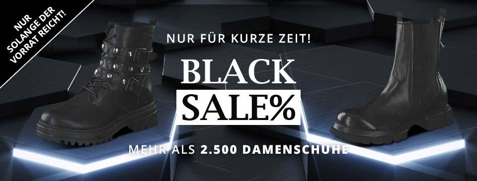 Black SALE auf schuhcenter.de: Mehr als 1.900 reduzierte Damenschuhe