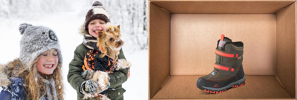 Günstige und warme Kinderschuhe für den Winter: Entdecken Sie eine große Auswahl an Booties, Stiefeln, Sneaker uvm.