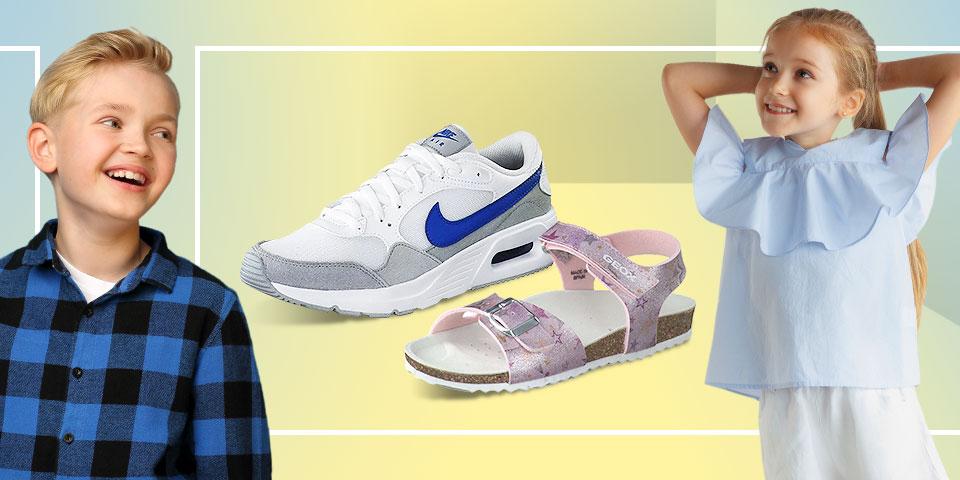 Günstige Kinderschuhe: Sandalen, Sneakers, Klettschuhe uvm.