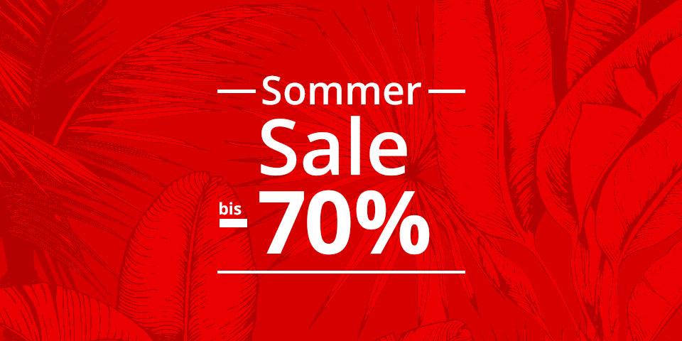 Sommer SALE bis -70%: Sandalen, Pantoletten, Sneaker, Sportschuhe uvm.