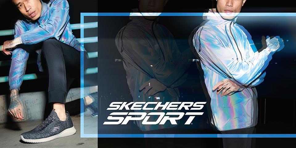 Komfortable Skechers Sneaker für Herren Herbst/Winter