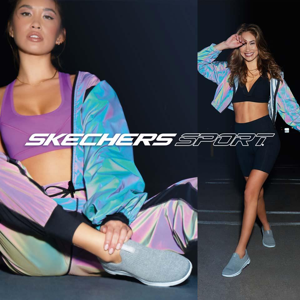 Komfortable Skechers Sneaker für Damen Herbst/Winter