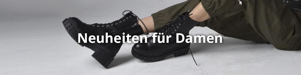 Neue Schuhe für Damen günstig online shoppen: Sneaker, Stiefeletten uvm.