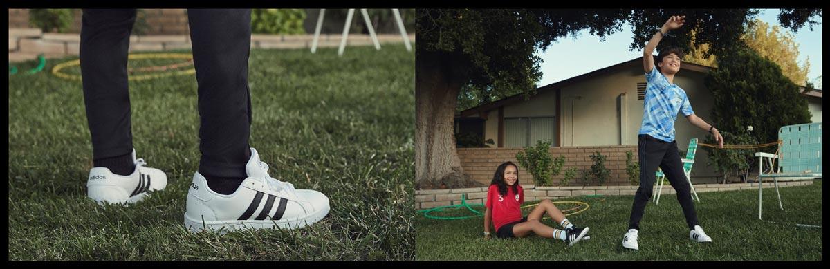 adidas Styles für Schule und Freizeit - Sneaker, Hallenschuhe, Laufschuhe, Fussballschuhe