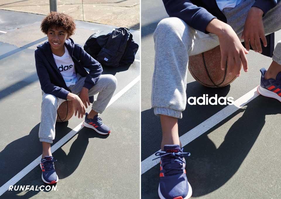 adidas Styles für die Schule - Sneaker, Hallenschuhe, Laufschuhe, Fussballschuhe und Gymbags für Mädchen und Jungen