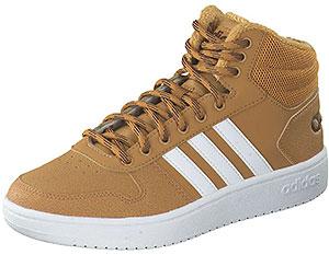 adidas Hoops Mid Sneaker mit Warmfutter für Herren