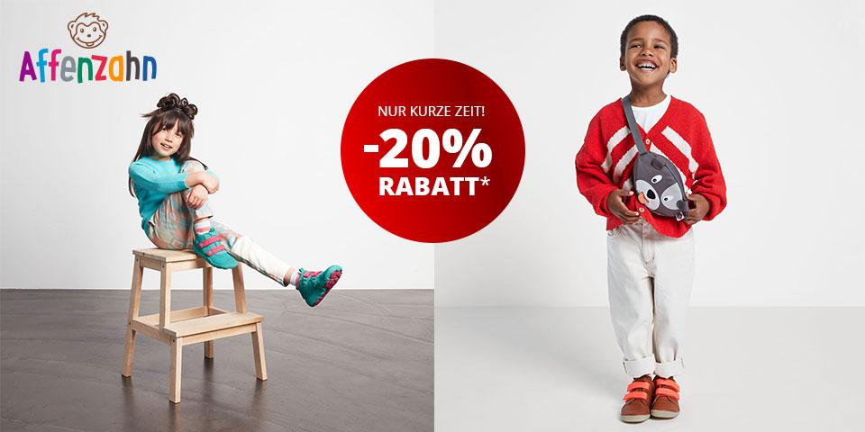 Affenzahn Schuhe, Taschen und Rucksäcke für Kinder
