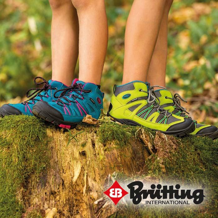 Brütting Outdoorschuhe - Robuste Wanderschuhe/Trekkingschuhe mit exzellenter Passform
