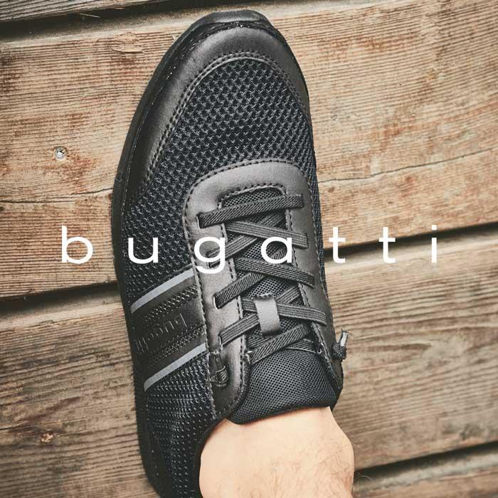Bugatti Herrenschuhe in Premium Qualität