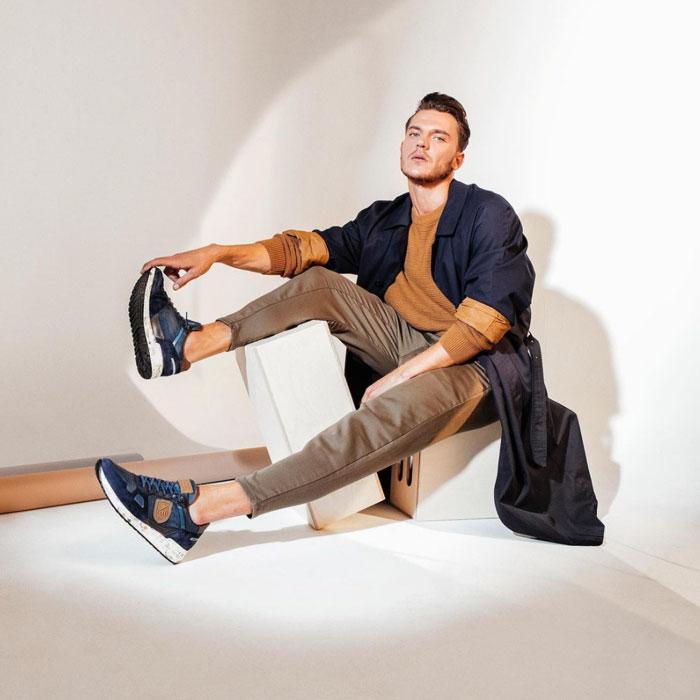 Cetti Herrenschuhe: Luxuriöse und sportive Design Sneaker