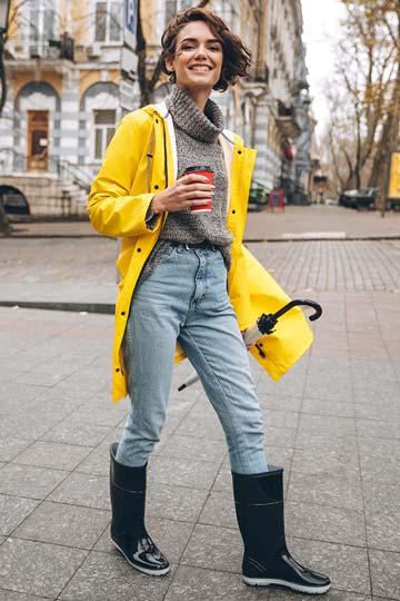Damen Gummistiefel: Trendy unterwegs mit trockenen Füßen