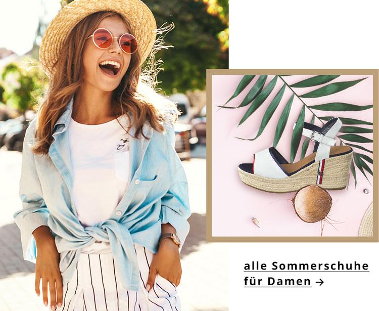 Aktuelle Trends ✓ Sandalen ☼ Pantoletten, Ballerinas  & Sneaker ➽ Sommerschuhe für Damen jetzt günstig kaufen ✅.