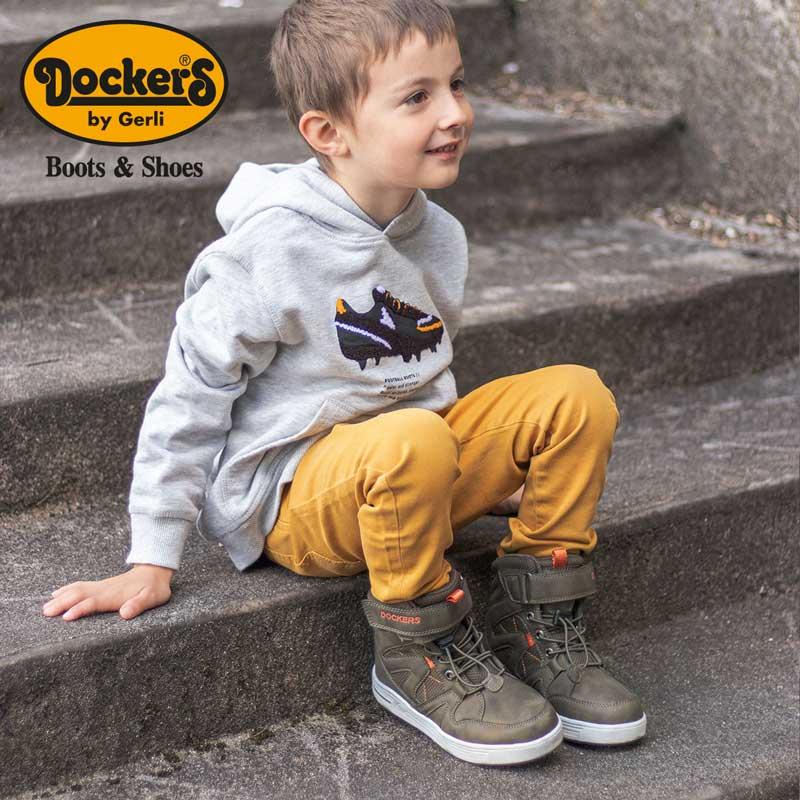 Dockers Kinderschuhe : Sneaker, Boots und Stiefel günstig online shoppen